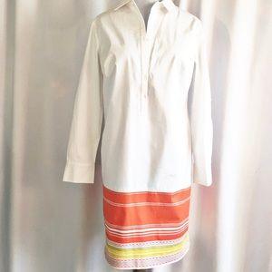 Ann Taylor Crisp Cotton Shirt Dress worn once